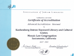 AJL Advanced Accreditation 2017-2022
